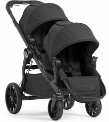 Baby Jogger City Select LUX Double Stroller 2018 in Granite Black - Ships Now!!!