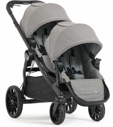 Baby Jogger City Select Lux Double Stroller 2019 In Slate Grey Ships Now