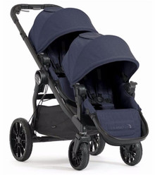 Baby Jogger City Select LUX Double Stroller 2018 in Indigo Blue - Ships NOW!!!