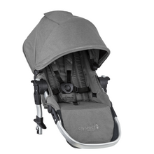 2019 Baby Jogger City Select Second Seat Kit in Slate Grey - Ships Now!
