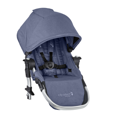2019 Baby Jogger City Select Second Seat Kit In Moonlight Blue Ships Now