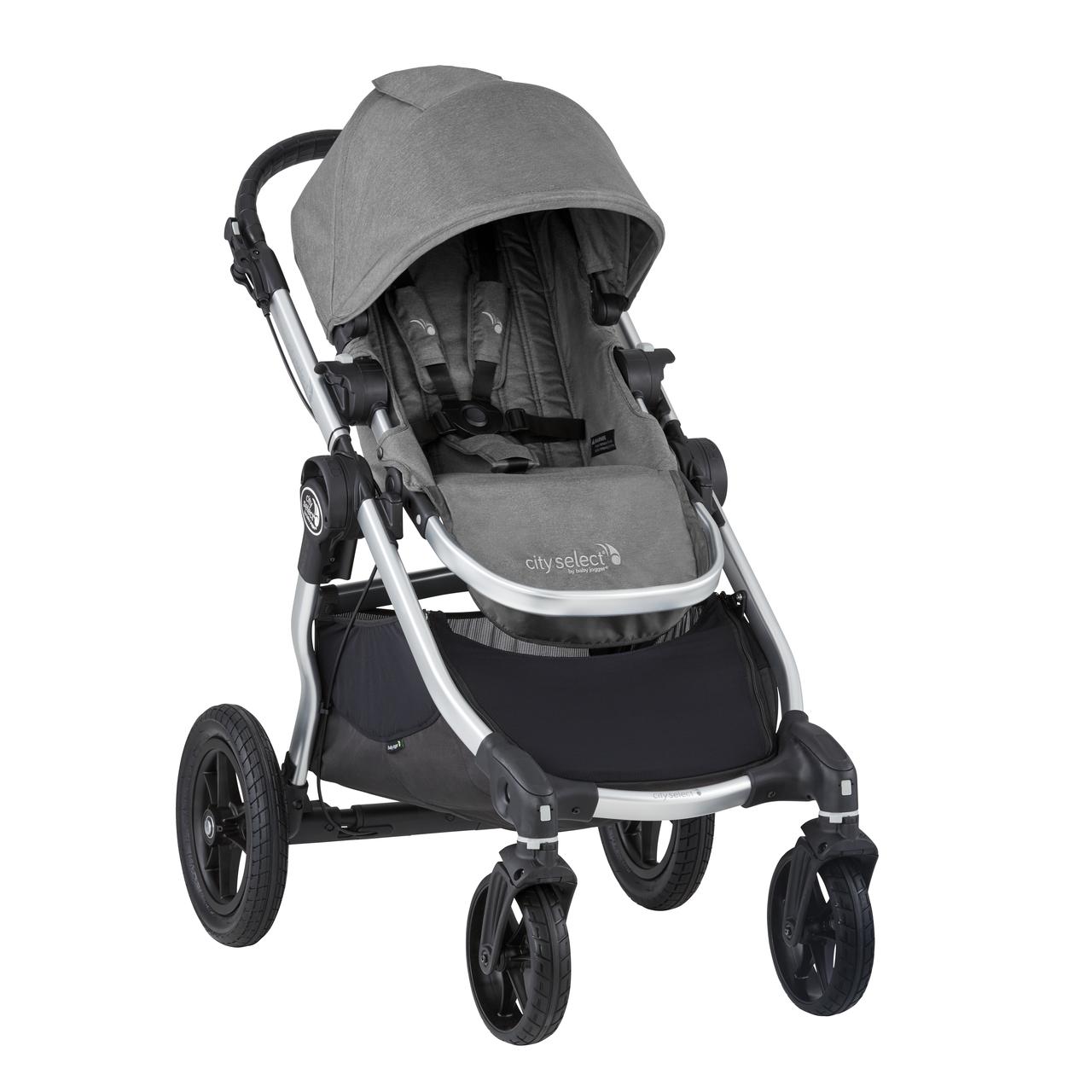 2020 Baby Jogger City Select Single Stroller - Slate Grey ...