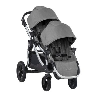 2019 Baby Jogger City Select Double Stroller Slate Grey Ships End Of June