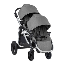 2020 Baby Jogger City Select Double Stroller - Slate Grey - Ships Now!