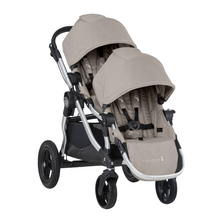 2020 Baby Jogger City Select Double Stroller - Paloma Beige - Ships Now!