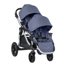 2020 Baby Jogger City Select Double Stroller - Moonlight Blue - Ships Now!