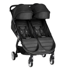 2020 Baby Jogger City Tour 2 Double Stroller - Jet Black- Ships Now