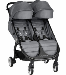 2020 Baby Jogger City Tour 2 Double Stroller - Slate Grey -  Ships Dec