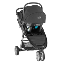 Baby Jogger 2020 City Mini 2 Travel System - Jet Black (Stroller, City GO Car Seat & Car Seat Adapter) - SHIPS NOW