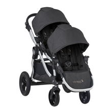 2020 Baby Jogger City Select Double Stroller - OPEN BOX - Jet Black - Ships Now!!!