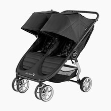 2021 Baby Jogger City Mini 2 Double Stroller - Jet - Ships Now!!!