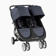 2021 Baby Jogger City Mini 2 Double Stroller - Carbon - Ships Now!!!