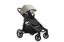 2022 Baby Jogger City Select 2 Eco Collection Single Stroller (Belly Bar Included) - Frosted Ivory - Ships Now!