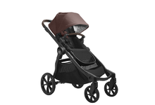 2022 Baby Jogger City Select 2 Eco Collection Single Stroller (Belly Bar Included) - Pure Mulberry Burgundy - Ships Now!