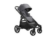 2022 Baby Jogger City Select 2 Single Stroller - Radiant Slate Gray - Ships Now!