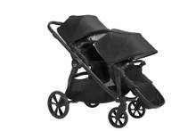 2022 Baby Jogger City Select 2 Eco Collection Double Stroller (Belly Bar Included) - Lunar Black - Ship Now!