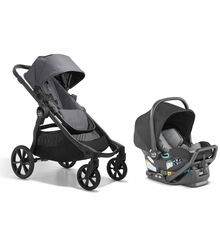2022 Baby Jogger City Select 2 Travel System - Radiant Slate Gray - Ships Mid October