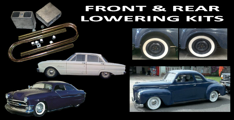 Front & rear Lowering Kits
