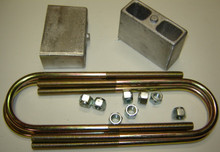 """Rear 3"""" drop lowering kit for all cars with 1-3/4"""" wide springs"""