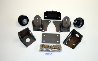 49/51 Merc Bolt-In SB Chevy Engine Transmission Mount kit