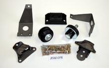 52/53 Ford/Merc Bolt-In SB Chevy Engine/Transmission Mount kit 2500CPB