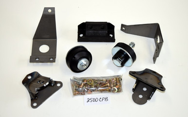 52/53 Ford/Merc Bolt-In SB Chevy Engine/Transmission Mount kit 2500CPB