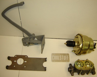 35/38 Plymouth Dodge bolt-in pedal assembly with booster cylinder
