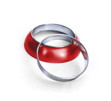 1949, 1950, 1951 Frenching Rings, Merc Style, Inner trim ring stainless steel, headlight rings