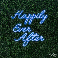 Happily Ever After 26x26x1in. LED Neon Flex Sign-LF016