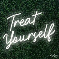 Treat Yourself 30x20x1in. LED Neon Flex Sign-LF054