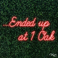 Ended up at 1 Oak 30x15x1in. LED Neon Flex Sign-LF103