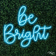 be Bright 24x21x1in. LED Neon Flex Sign-LF113