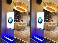 Double Sided Floor Standing Kiosks