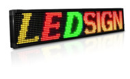 15 x 65 inch Red/Green 20mm LED Programmable Sign Scrolling Message Display