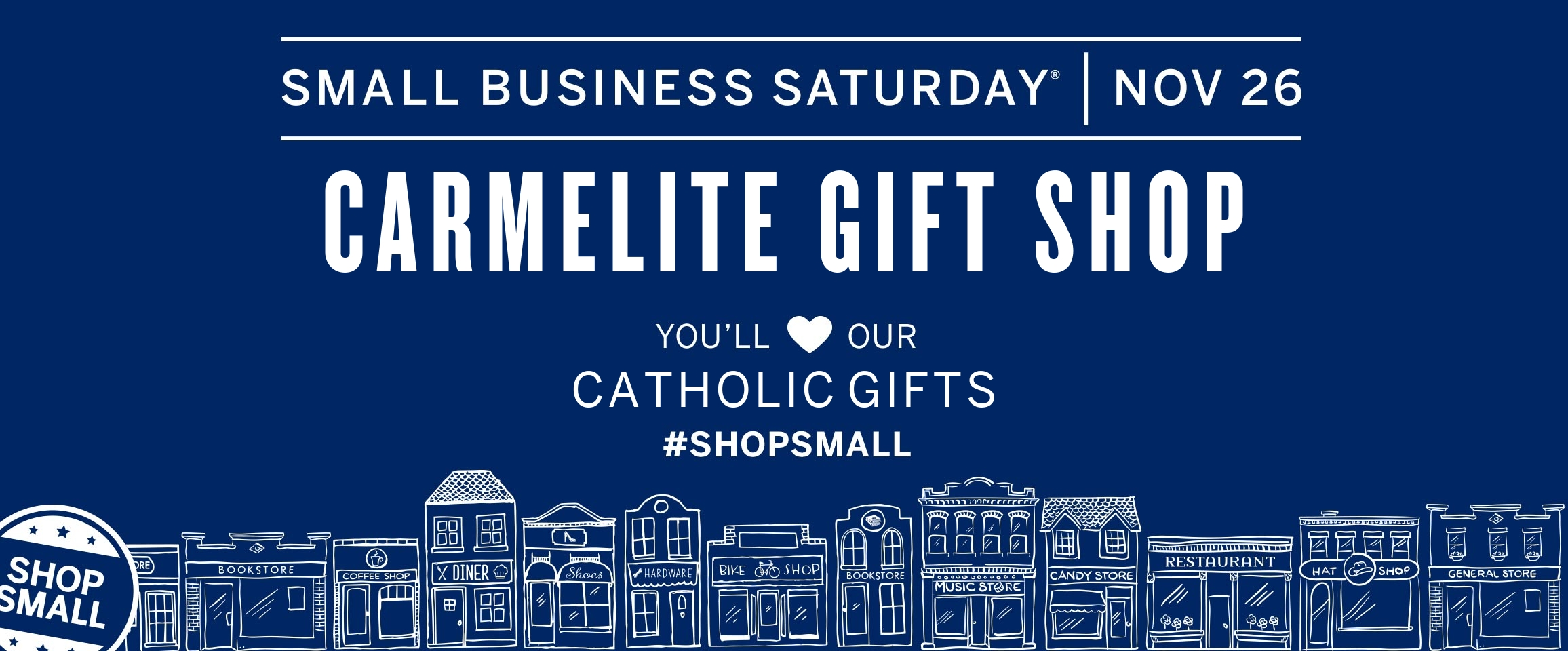 Small Business Saturday, Shop Small with us