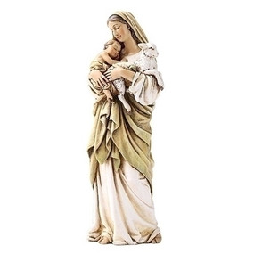 "Madonna & Child with Lamb Statue (6.25"")"