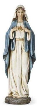 """Immaculate Heart of Mary Statue (14"""")"""