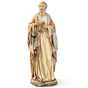 """St. Peter with Keys Statue (10.5"""")"""