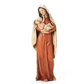 "A Child's Touch Madonna and Child Statue (10"")"