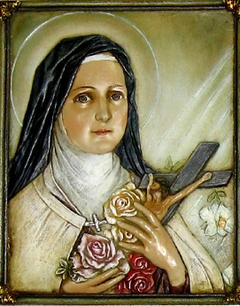 St. Therese Plaque
