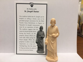 "St. Joseph Statue for Selling a Home (4"")"