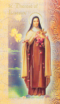 St. Therese of Lisieux Biography Card