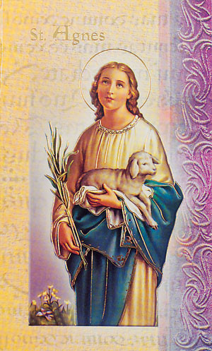 St. Agnes Biography Card