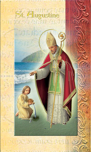 St. Augustine Biography Card