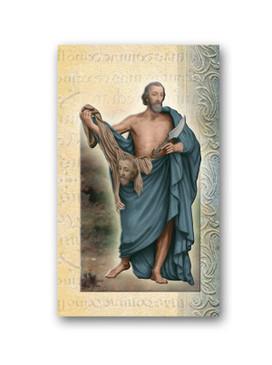 St. Bartholomew Biography Card