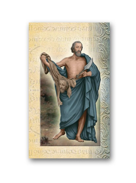 St. Bartholomew Biography Card