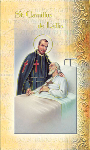 St. Camillus of Lellis Biography Card