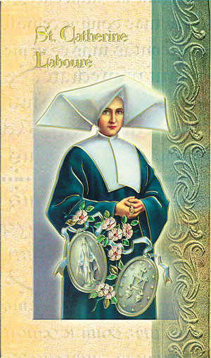 St. Catherine Laboure Biography Card