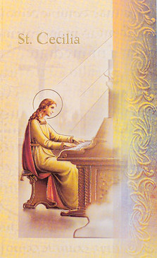 St. Cecilia Biography Card