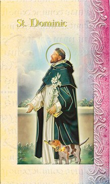 St. Dominic Biography Card
